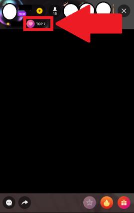 HAKUNA(ハクナ):ライブ配信画面