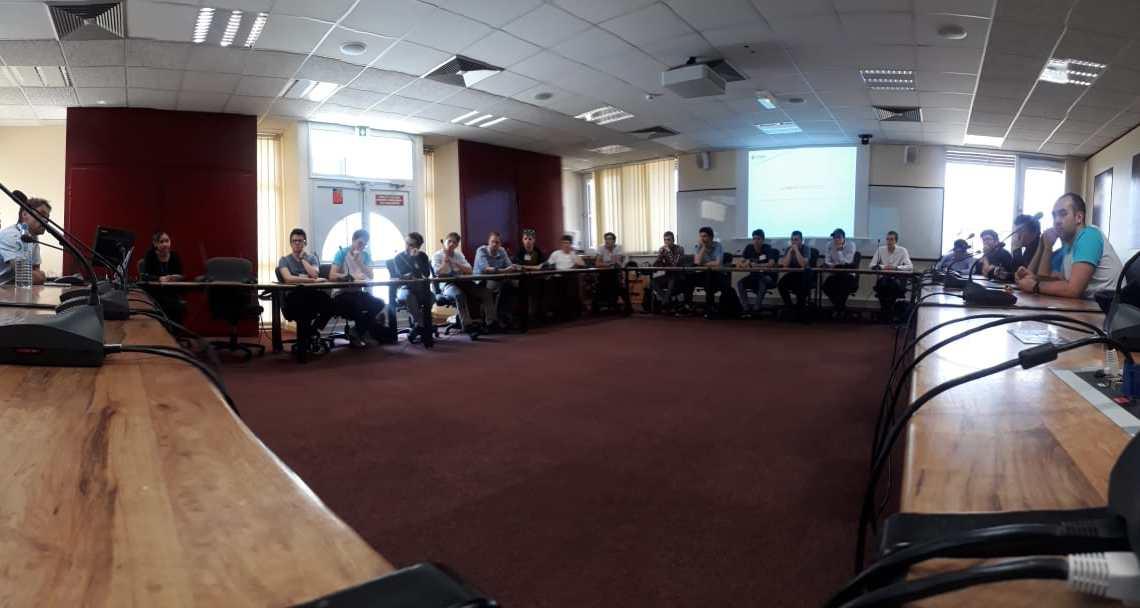 Rencontre avec la cellule gestion des ressources humaines du CNES