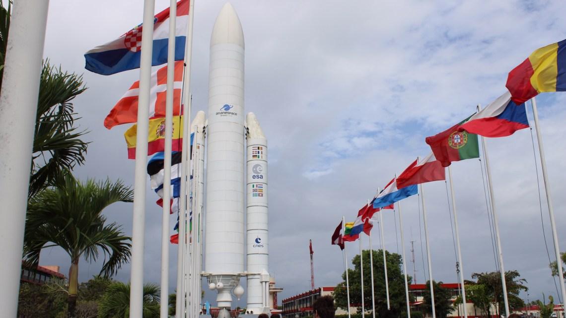 Première visite du Centre Spatial Guyanais