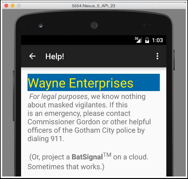 Wayne-Help