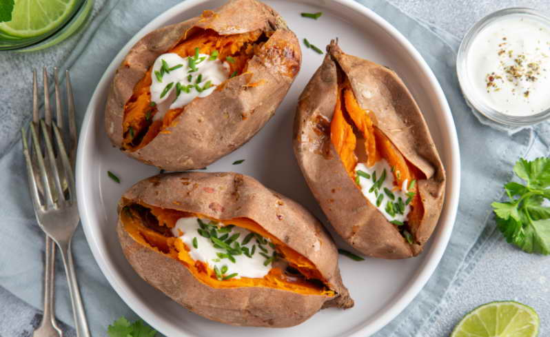 How to Cook Sweet Potatoes in The Microwave