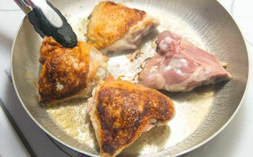 how to cook chicken thigh