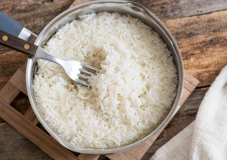 how to cook rice on stove