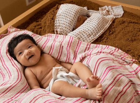 ママと赤ちゃん添い寝入酵