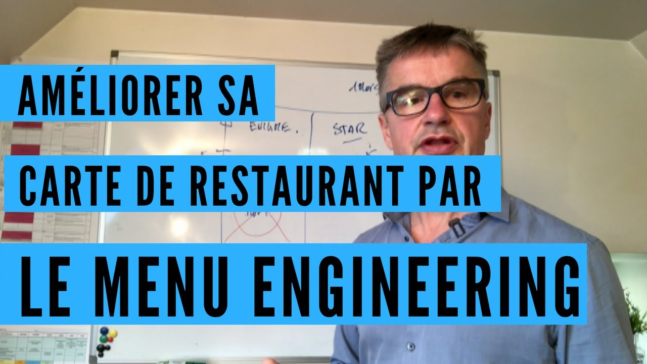 Améliorer la carte par le menu engineering
