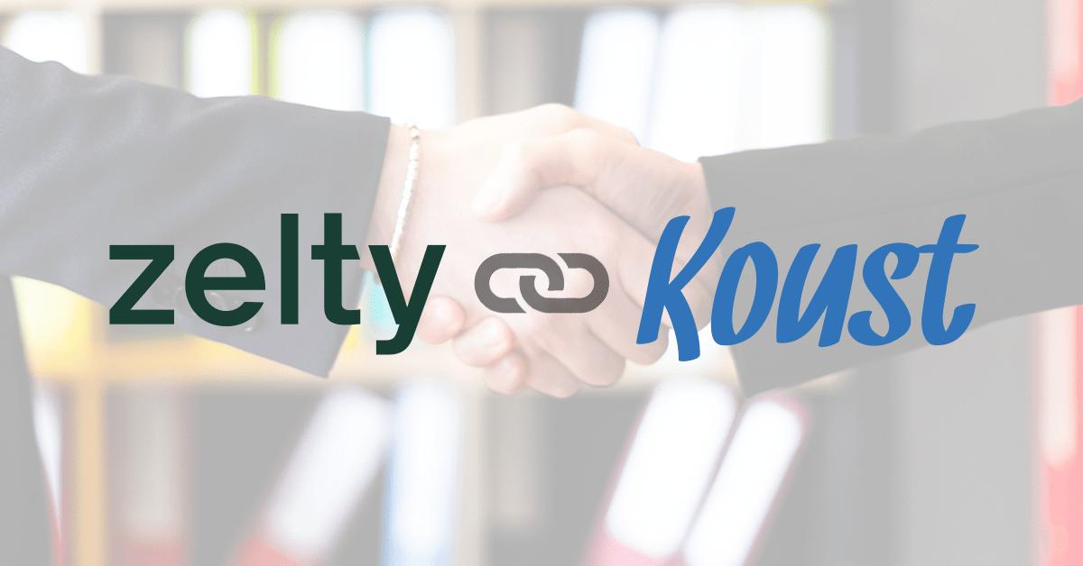 La liaison entre Koust et le logiciel de caisse Zelty est enfin arrivée !