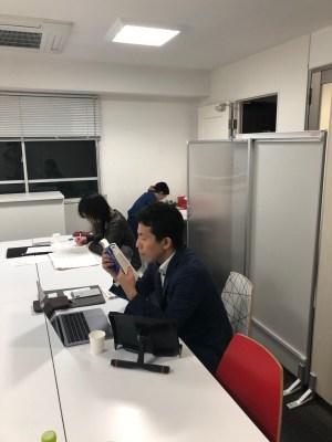 2018.12.4平日版2時間ポモドーロを開催(勉強会&コミュニティ開催その12)