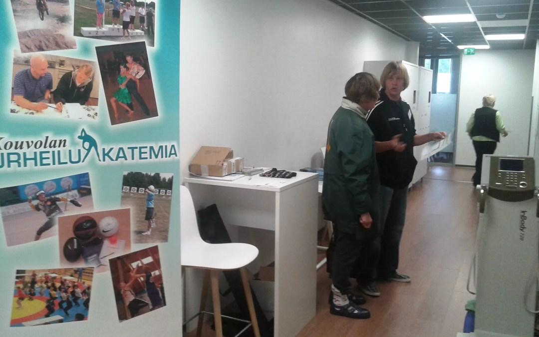 URHEILUAKATEMIA TAITAJANTIELLÄ LA 19.9.