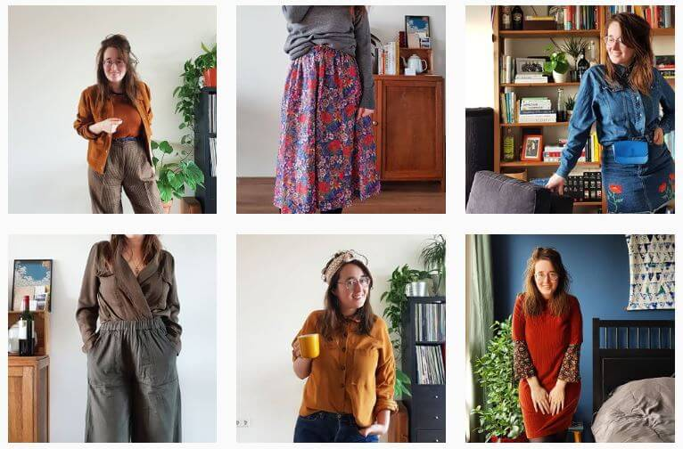 Mijn outfits tijdens Color my Closet-challenge