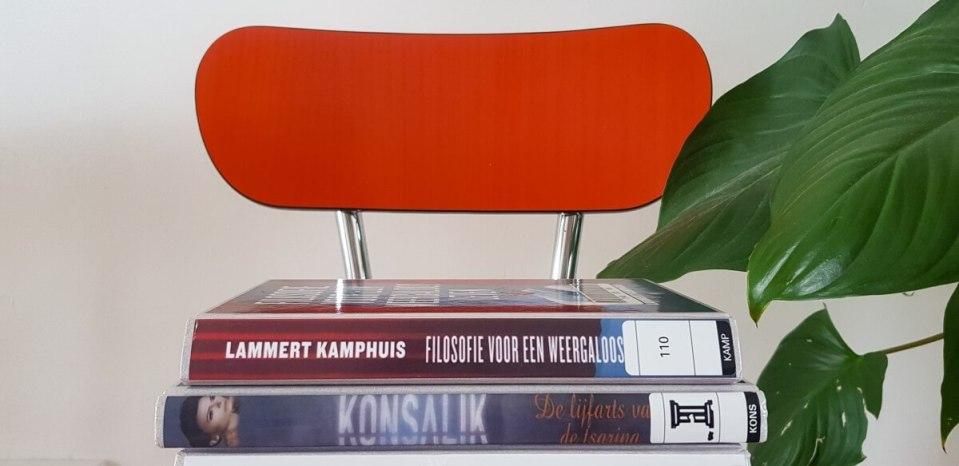 Tips voor het minimaliseren op boeken.