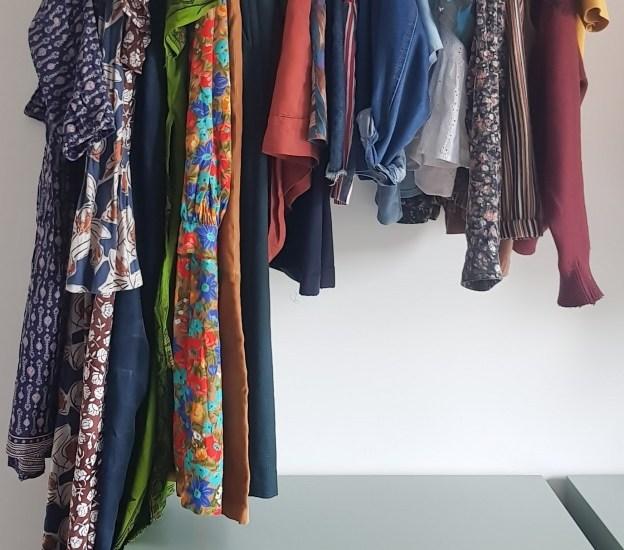 Een capsule wardrobe met mijn minst gedragen kleding