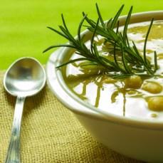 Coriander Chickpea Soup