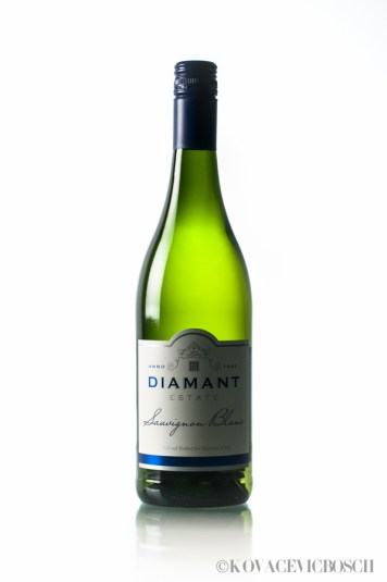 Diamant Estate Wine Bottles   Product Photography