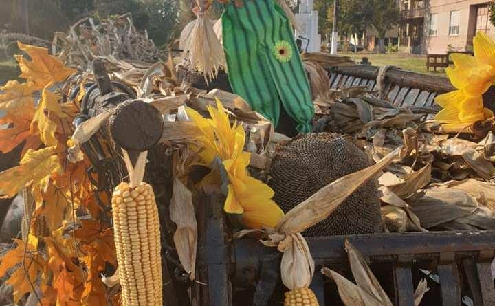 Uzdin: Jesenja dekoracija inspirisana banatskim pejzažem