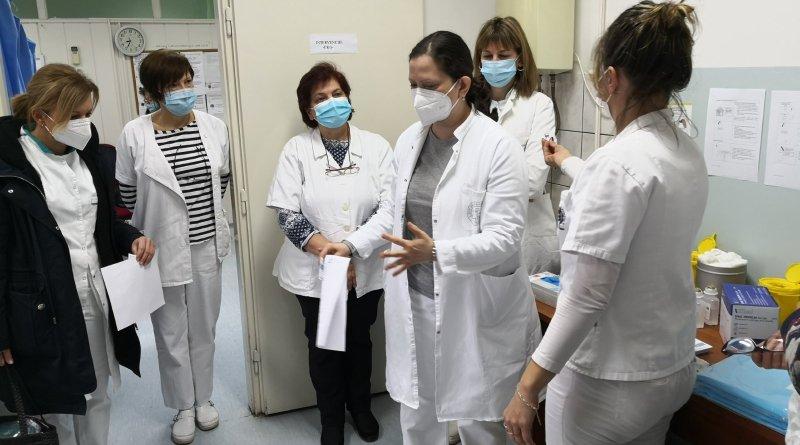 Počela vakcinacija u Domu zdravlja Kovačica, za danas 144 zakazano
