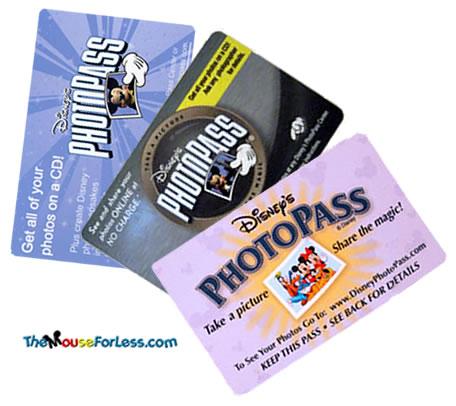 Sample Photopass Cards