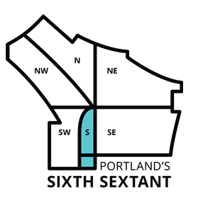 PortlandNeighborhoodMapNorthNESESouthNWSW