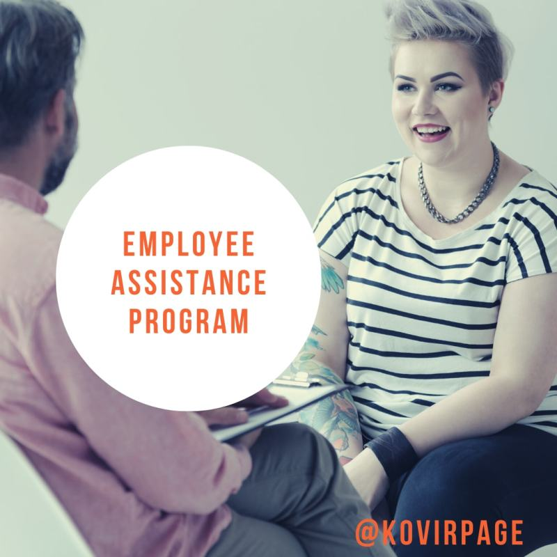 employee assistance program by cover page
