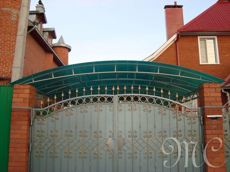 Ворота кованые от Кузницы Урала