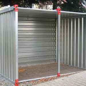 2.25M Open Front Container