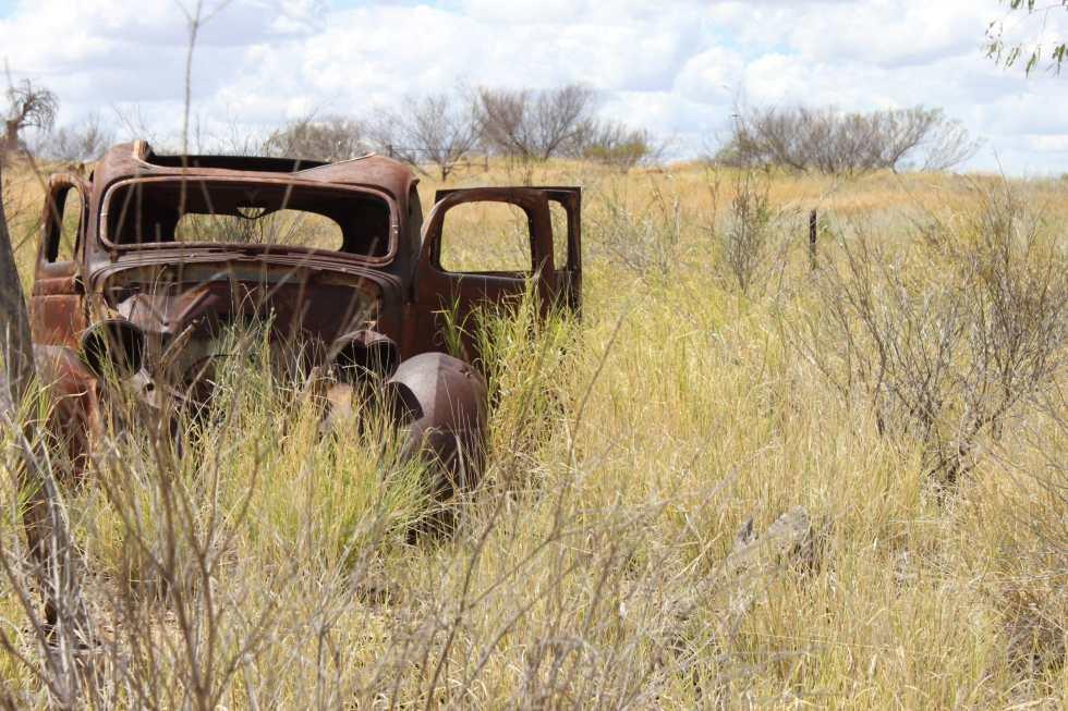 épave voiture en australie