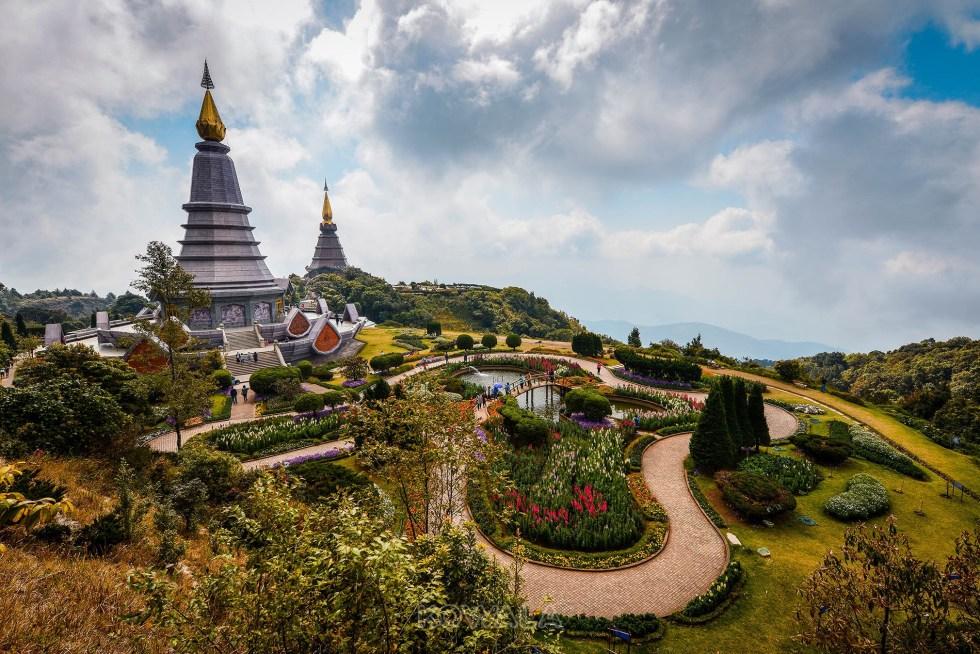 Pagode de Doi Inthanon, Thailande