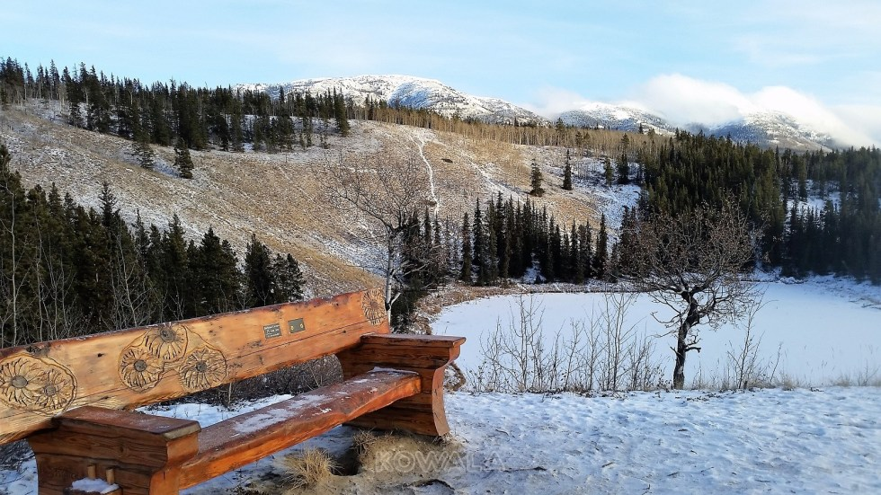 randonnées en hiver au Yukon - Hidden Lakes