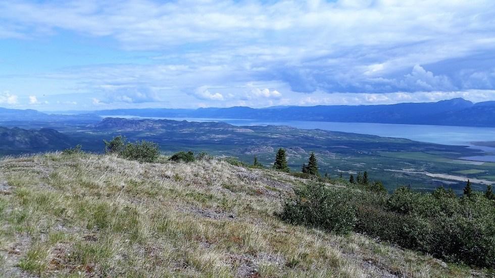 randonnées en été au Yukon - Vista summit