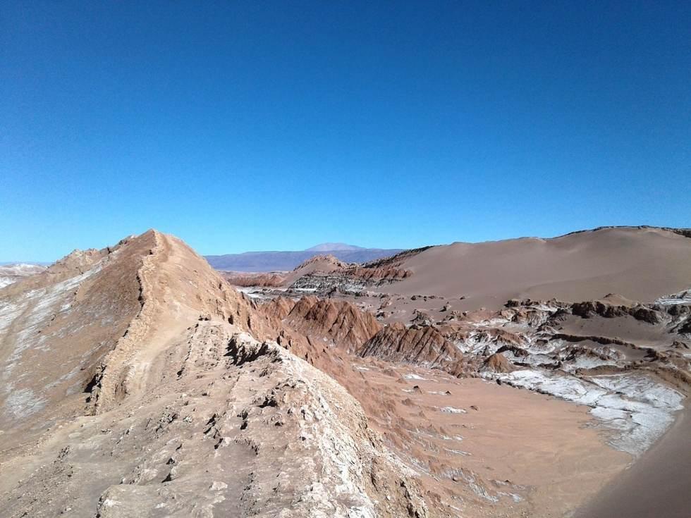 Valle de la Luna, près de San Pedro de Atacama, Chili.