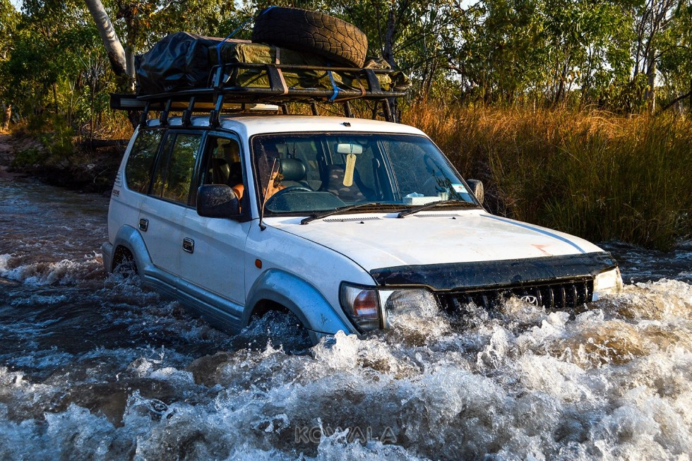 franchissement 4x4 4wd no snorkel australia el questro backpacker road trip pvt kimberley wa