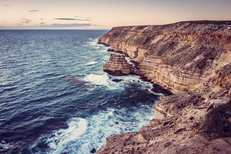 Kalbarri-Coral-Coast-national-park- sunset WA Australie Backpacker PVT Road Trip