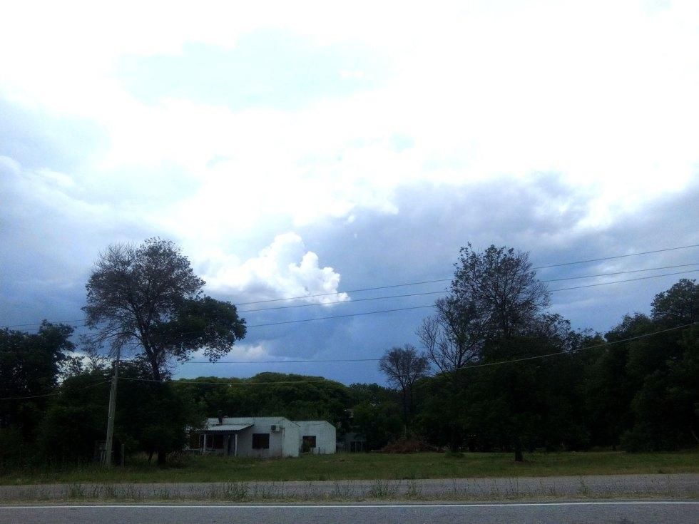 Sur la Ruta 1, entre Colonia et Montevideo.