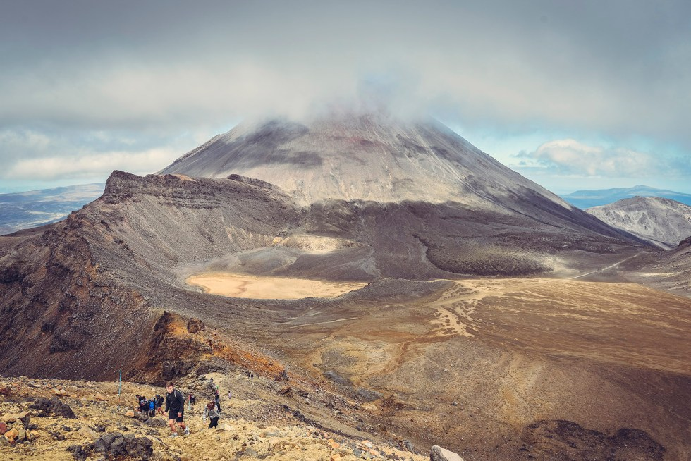 Tongariro Alpine Crossing North Island PVT Australie Nouvelle Zélande backpacker road trip travel voyage photography Australia New Zealand
