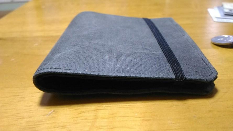 やったー!Tenuis3!愛用してきた薄い財布の新作がくるぞー!