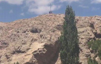 Kayalıklarda Zorlu Keçi Kurtarma Operasyonu