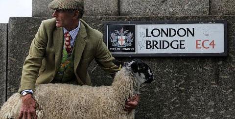 Londra'da koyun bayramı
