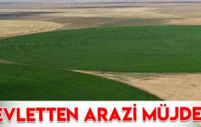 Hazine arazisinde çiftçilik devri başlıyor…