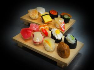 寿司いっぱい