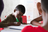 Projet Learning Zone du Rotaract Club de Mahebourg à Le Bouchon