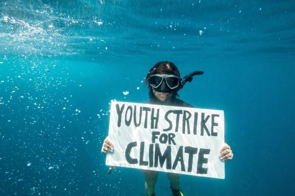 Climate activist Shaama Sandooyea.