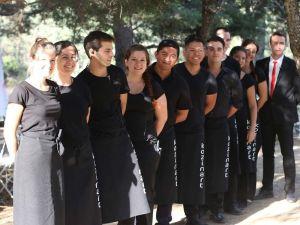 Equipo de Kozinart catering Madrid