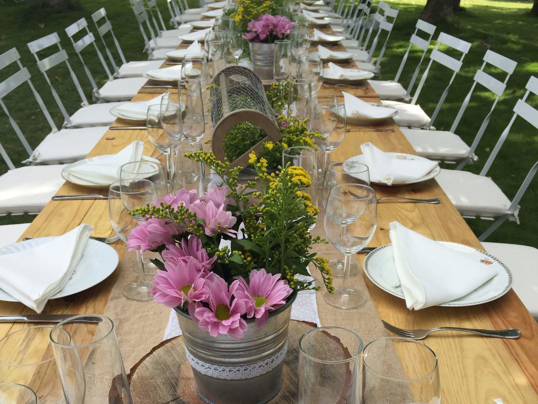 en la mesa bodas, catering madrid