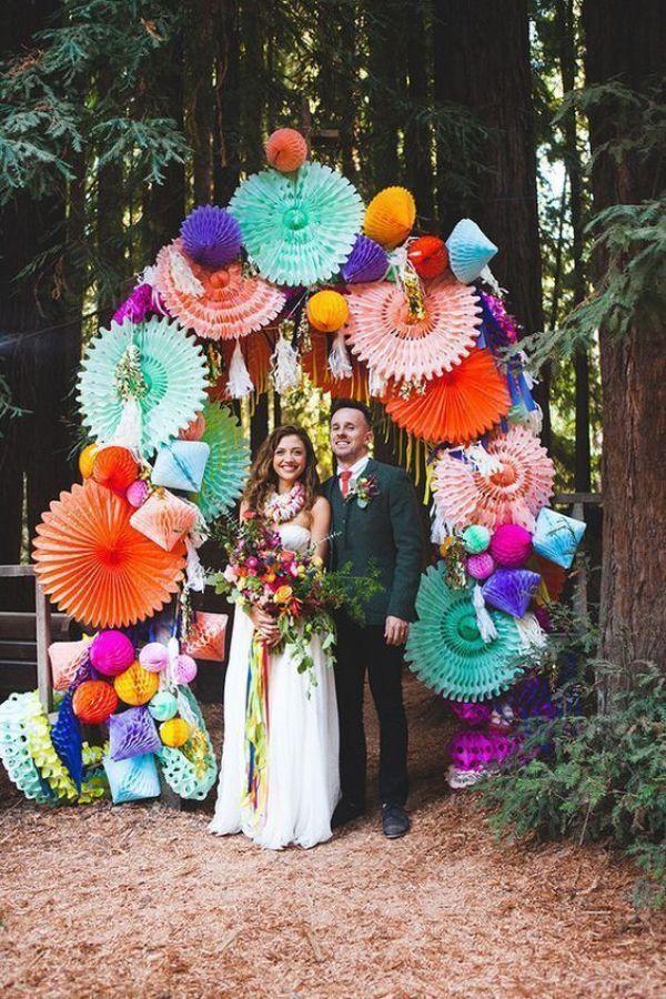Construir o crear vuestro arco y decoración de la ceremonia