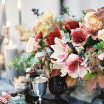 centros florales boda otoño, catering madrid