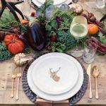 vajilla para boda otoño, catering madrid