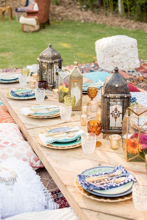 mesa comoda al estilo marroquí, kozinart
