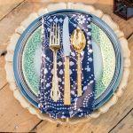 vajilla y cuberteria marroquí, catering madrid