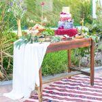 tarta, lavanda y color, catering madrid
