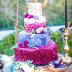 tarta con color para un dia magico, catering madrid