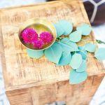 Boda con mucho color y rosas catering madrid